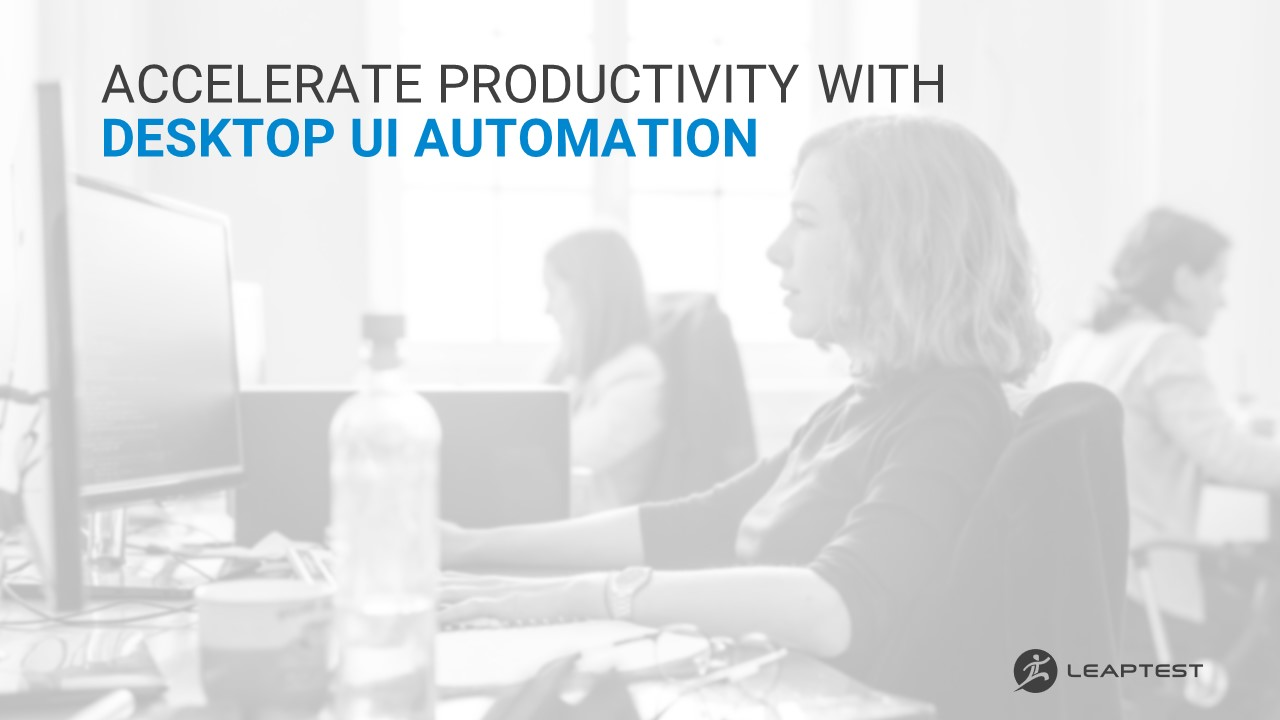 Preview of the whitepaper Accelerate Productivity with Desktop UI Automation